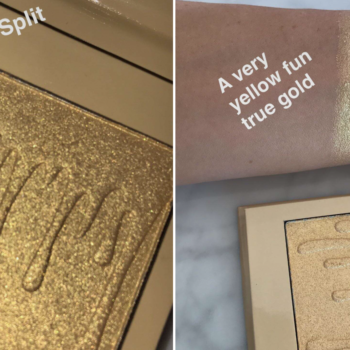 Take a deep breath because Kylie Cosmetics' highly anticipated highlighter line is finally here