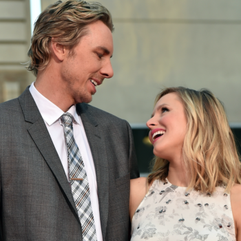 Kristen Bell and Dax Shepard are currently having a couple's fight that is so relatable it hurts