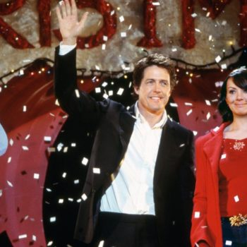 "Another ""Love Actually"" star was photographed filming the sequel in a very non-romantic location"