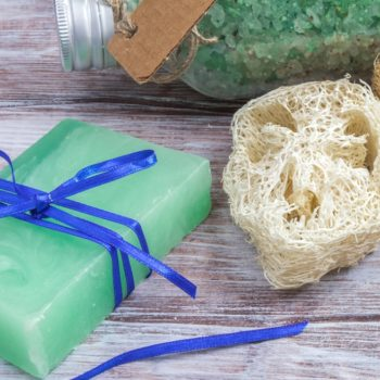 We just learned what loofahs are made of, and showering will never be the same