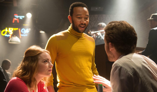 "So, John Legend will actually sing Emma Stone's iconic solo song from ""La La Land"" at the Oscars"