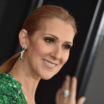 "Céline Dion's outfit is a literal tribute to ""My Heart Will Go On"""