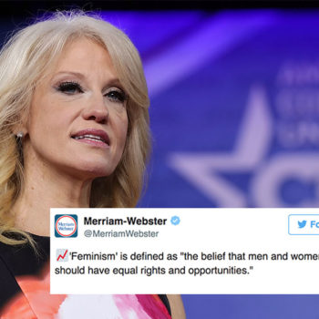 "Woke dictionary Merriam-Webster has responded to Kellyanne Conway's ""definition"" of feminism"