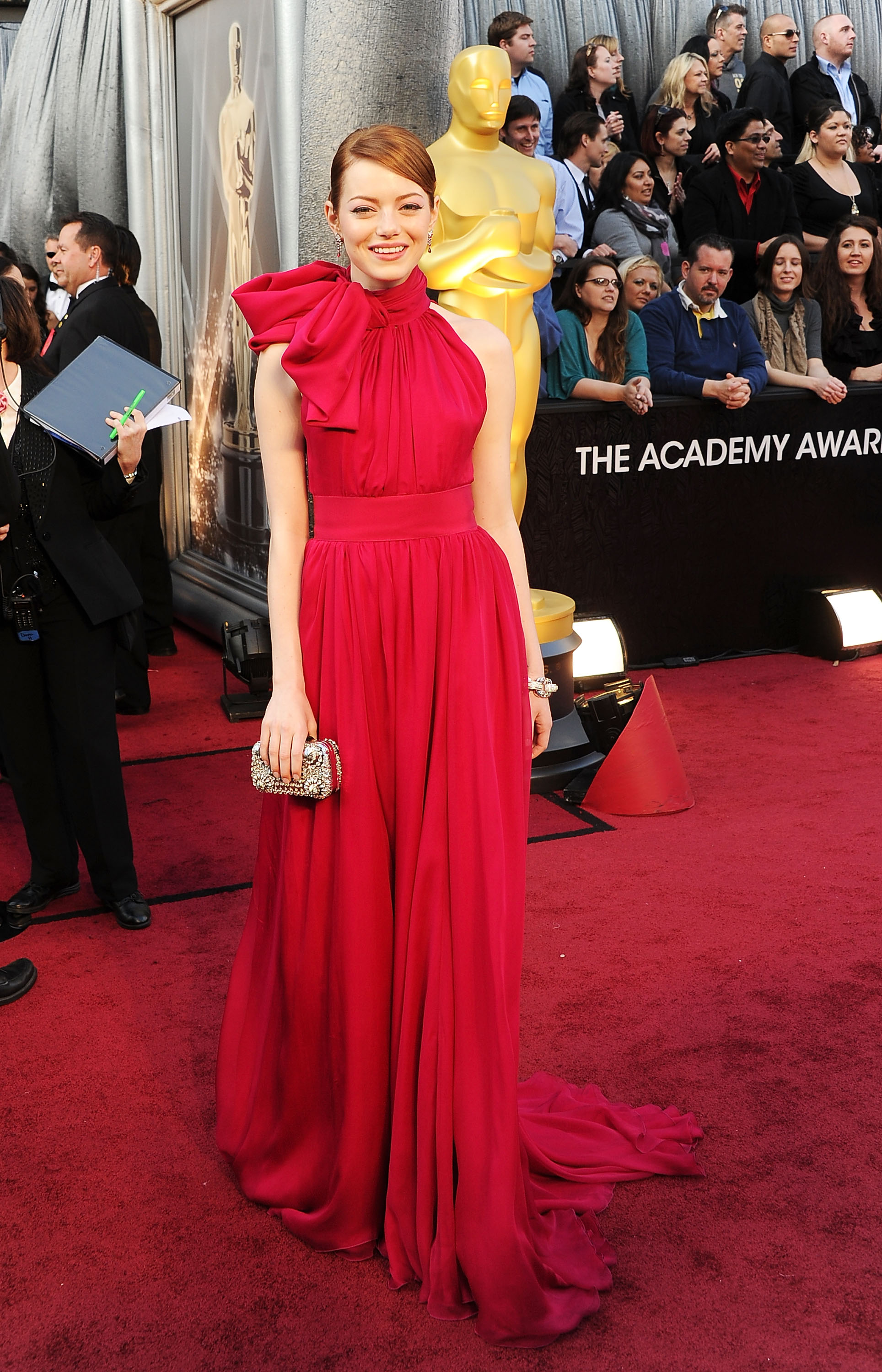 Emma Stone Went With The Blonde Bombshell Look At Her