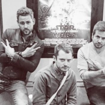 "Elijah Wood and ""The Bachelor's"" Nick Viall have been friends for years, and we have questions"