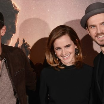 "We're unapologetically obsessed with these photos of Emma Watson and Dan Stevens being friends at the ""Beauty and the Beast"" premiere"