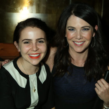 Mae Whitman is just as excited about Lauren Graham's new TV gig as we are