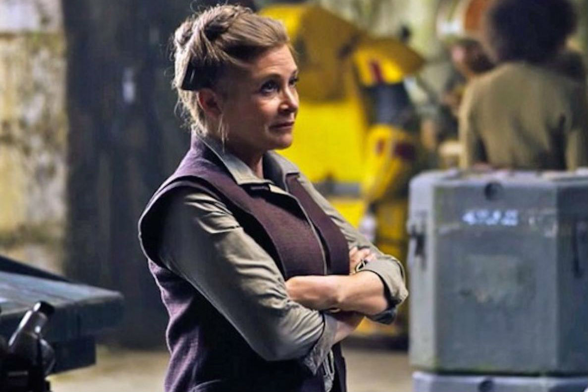 "Today's bummer ""Star Wars"" news: ""The Last Jedi"" *is* going through reshoots because of Carrie Fisher's death"