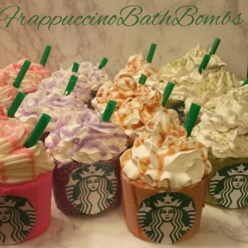 OMG: Starbucks Frappuccino bath bombs exist