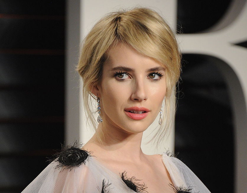Emma Roberts' dress looks like something Ursula would wear to steal your man