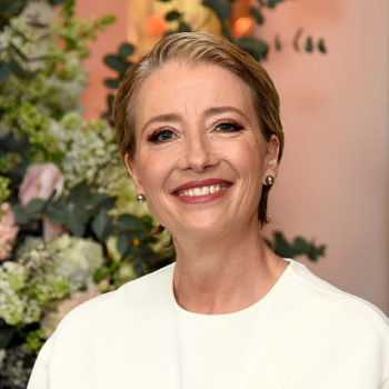 "Emma Thompson is living her best life on the ""Beauty and the Beast"" red carpet"