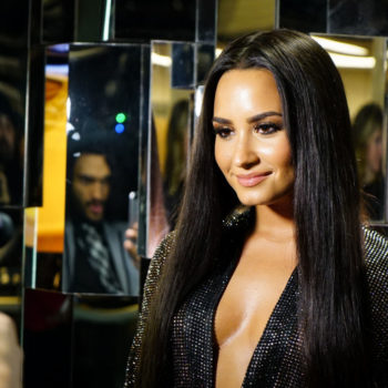 Demi Lovato's advice for anyone struggling with mental health? Just start talking