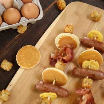 Once you try these brunch kabobs, your mornings will never be the same
