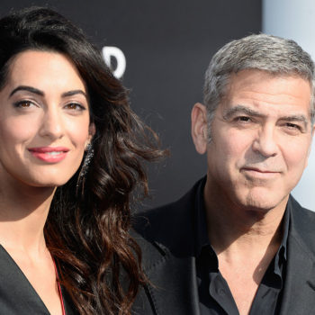 Amal Clooney's ombre dress just brought back whimsy to the red carpet