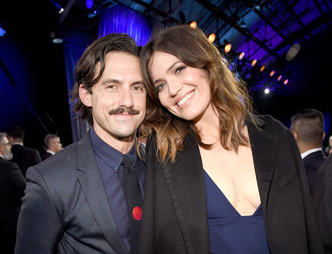 Mandy Moore shared a photo of 'the first Milo in my life,' and it's not Milo Ventimiglia (but we're sure he'll forgive her)