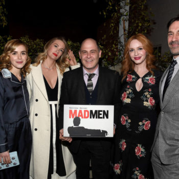 "This ""Mad Men"" reunion is extremely cute, and it's making us miss the Drapers more than ever"