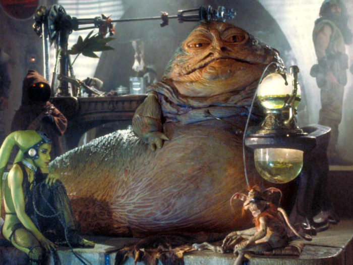 Jabba The Hutt Could Have Been Even Grosser Looking