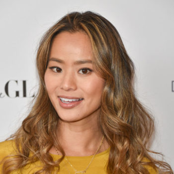 Jamie Chung brought her dog on the red carpet and totally stole the show