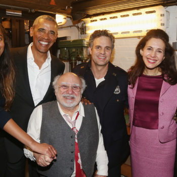 Barack Obama took Malia to a Broadway show, and it looks like they had a blast