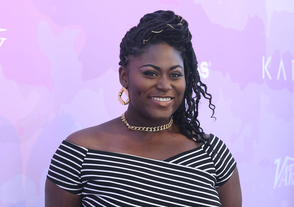 Danielle Brooks said she's gotten tons of positive reactions to her body positive Lane Bryant campaign