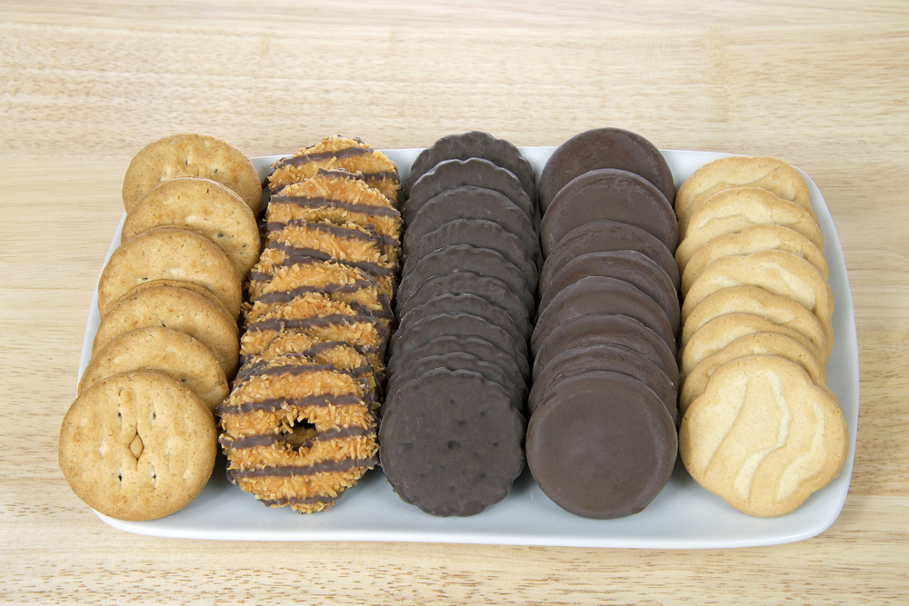 We must find these Girl Scout doughnuts right now, and eat ALL OF THEM