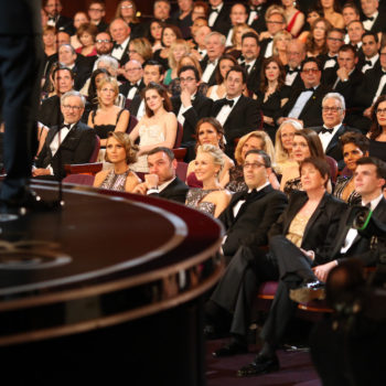 It's our dream to be an Oscars seat-filler, and for this guy it came true