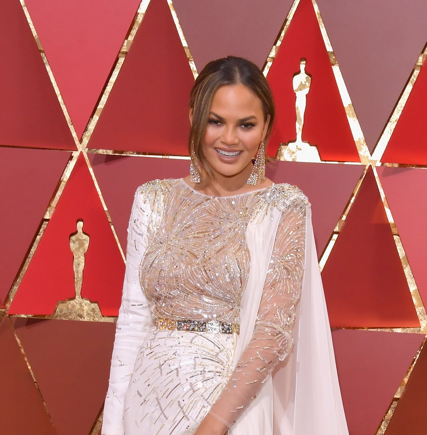 Everyone at the Oscars looks like they are wearing wedding dresses, and we are very into it