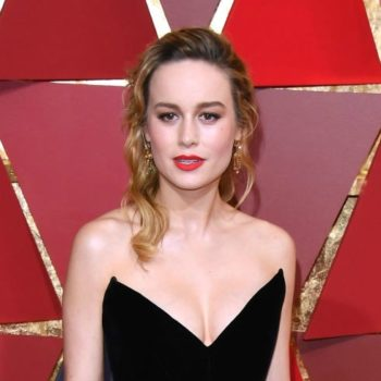 Brie Larson wore a dress Morticia Addams would approve of for the Oscars red carpet