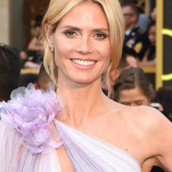 Heidi Klum posted a time-lapse video of herself getting glam for the Oscars, and yes, she looked stunning at every stage