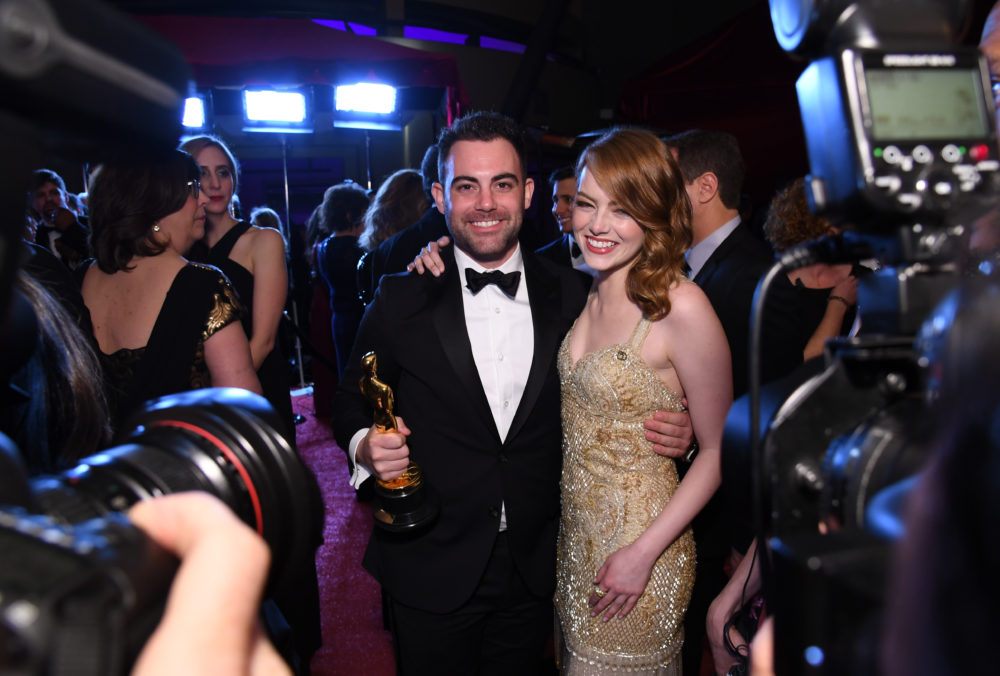 13 celebrities who brought their siblings to the Oscars