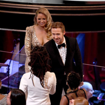 "The identity of Ryan Gosling's Oscars ""mystery date"" has been solved"