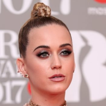 "Katy Perry looked like a shiny new copper penny at the ""Vanity Fair"" Oscars after party"