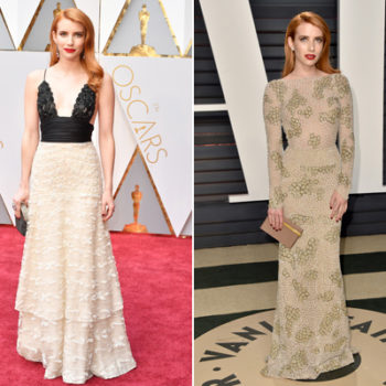 What these actresses wore to the awards show parties were more epic than what you saw at the Oscars