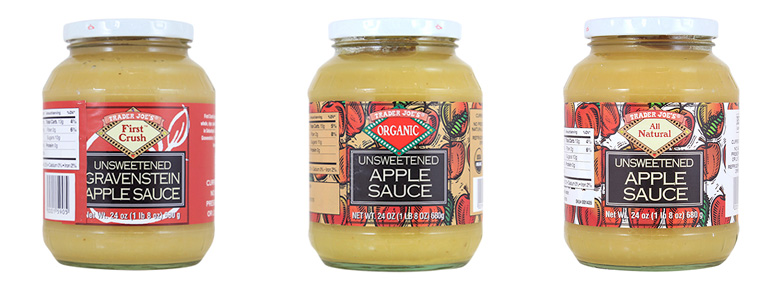 This Trader Joe's applesauce is being pulled from shelves because it could contain something... not edible