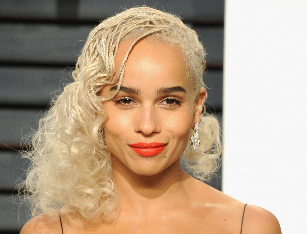 Zoë Kravitz invoked Jean Harlow at the Oscars after-party, but she put her own spin on it