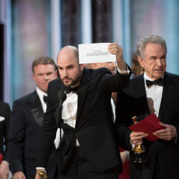 It's actually not the first time the Oscars have presented the wrong winner