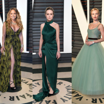 "We are green with envy over these red carpet gowns at the ""Vanity Fair"" Oscars after-party"