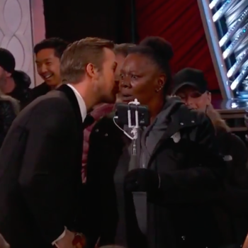 Best Oscar meme of the night: Whispering Ryan Gosling