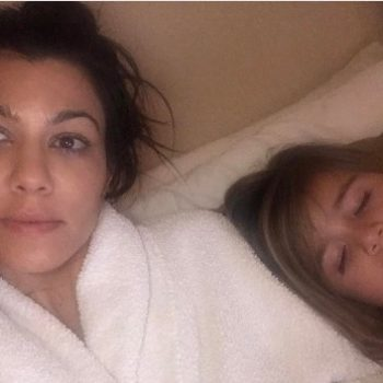 People are angry about this photo of Kourtney Kardashian's daughter, and everyone needs to relax!