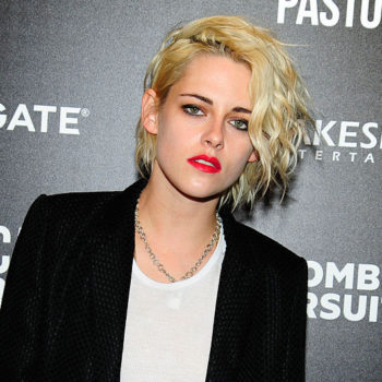 Kristen Stewart looks like she's about to join her grunge girl band on stage