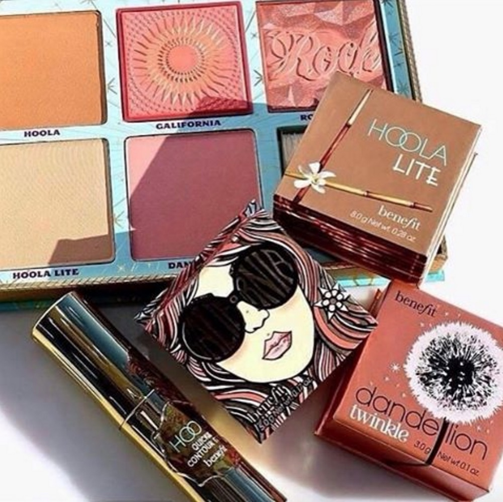 Benefit Cosmetics' Cheek Parade blush palette is the perfect item for spring