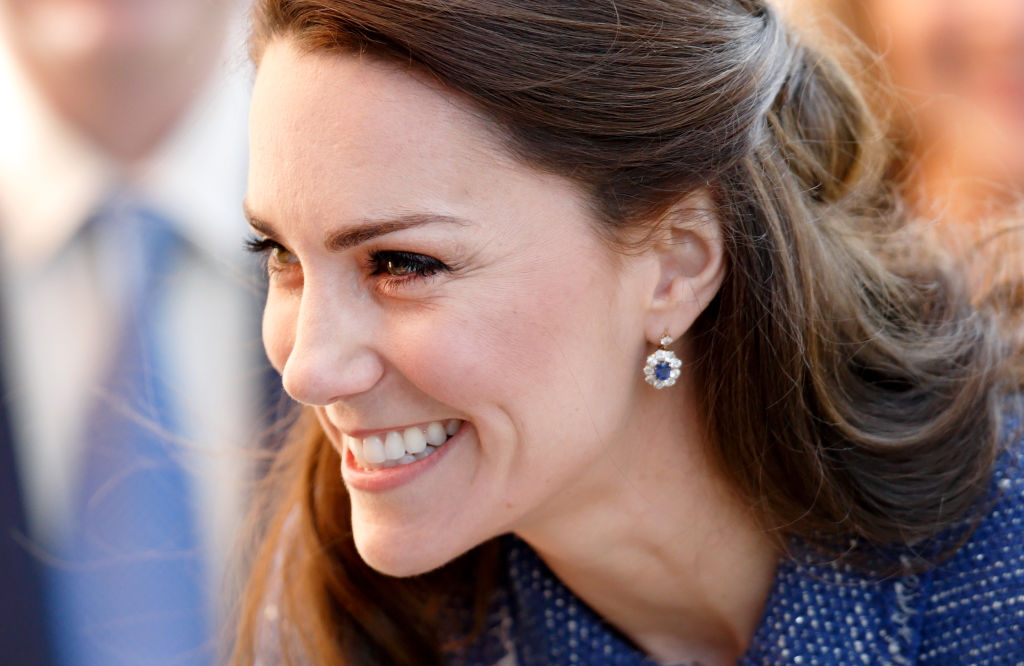 Kate Middleton makes a very convincing case for tweed skirt suits