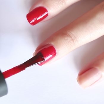 This at-home manicure tip will seriously revolutionize your nail game