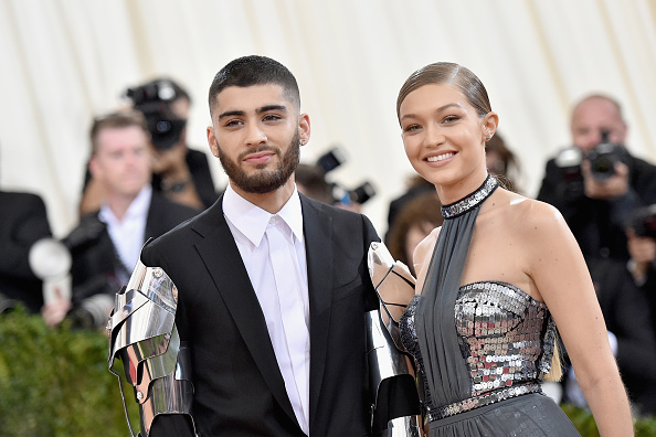 Gigi Hadid and Zayn Malik are giving us old-school fashion flashbacks with their matching outfits