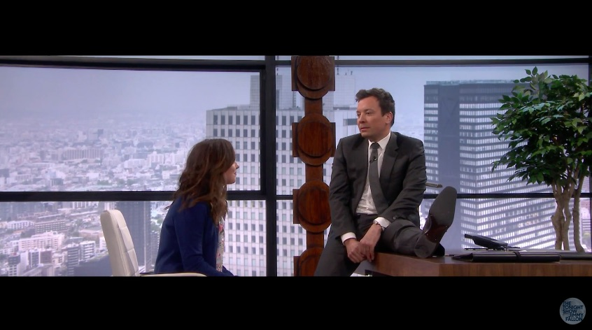 "Dakota Johnson and Jimmy Fallon turned ""Fifty Shades Darker"" into a comedy, and we'd genuinely watch that, guys"