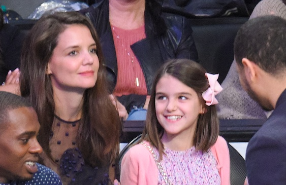 Katie Holmes opened up about trying to give Suri the most normal life possible