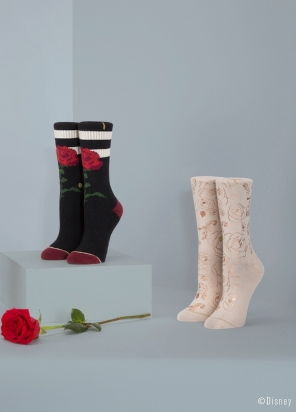 "The new Stance ""Beauty and the Beast"" sock collection is simply magical"
