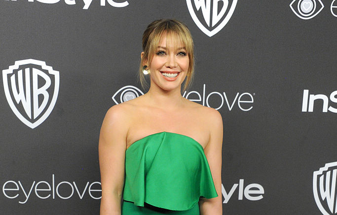 Hilary Duff just wore the one color we seriously need to stock up on for spring