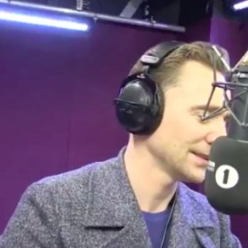 Tom Hiddleston live-narrated a giraffe giving birth, and this should probably just be his job now