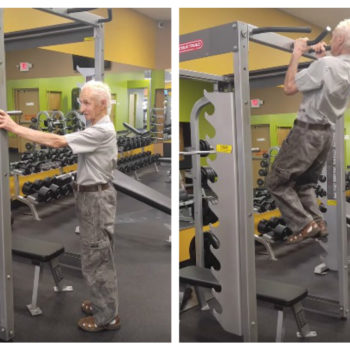 This 90-year-old did something on his birthday that we are definitely not strong enough to do